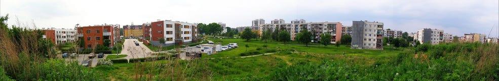 Het landgoed van Brzeziny Stock Fotografie