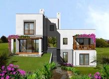 Het landgoed van de huisvesting vector illustratie