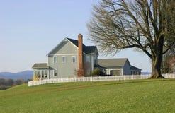 Het Landgoed van het land/het Huis van het Landbouwbedrijf Stock Foto's