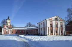 Het landgoed in Yaropolets dichtbij Volokolamsk, dat door Zagryazhsky wordt bezeten, die tweemaal door Pushkin werd bezocht royalty-vrije stock foto