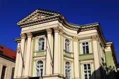 Het Landgoederentheater of divadlo Stavovské zijn een historisch theater in Praag, Tsjechische Republiek Royalty-vrije Stock Afbeelding