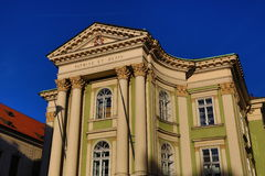 Het Landgoederentheater, Oude Gebouwen, Praag, Tsjechische Republiek Stock Afbeeldingen