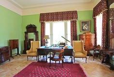 Het Landgoedmuseum van Leninskiyegorki, het gebied van Moskou stock afbeeldingen
