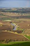 Het landkant van Tarquinia Stock Foto's