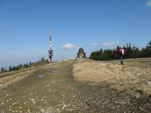 Het landschap Beskydy van de berg Royalty-vrije Stock Foto's