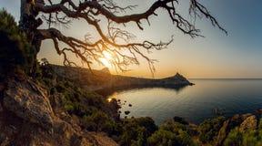 Het landschap de Krim van de schoonheidsaard Royalty-vrije Stock Foto