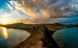 Het landschap de Krim van de schoonheidsaard Royalty-vrije Stock Afbeelding