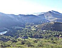 Het landschap in de ochtend royalty-vrije stock foto's