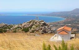 Het landschap de Peloponnesus Griekenland van Lakonia stock fotografie