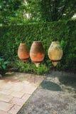 Het landschap in de tuin Stock Foto