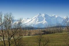 Het landschap in Hoge Tatra Royalty-vrije Stock Foto's