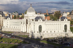 Het landschap in kazan, Russische federatie royalty-vrije stock afbeeldingen