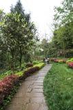 Het landschap in lingyunberg in Sichuan, China Royalty-vrije Stock Afbeeldingen
