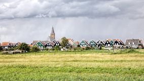 Het landschap Nederland van het land stock foto