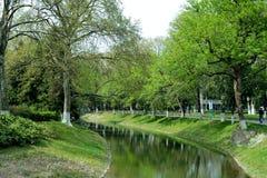 Het landschap in het park Royalty-vrije Stock Afbeelding