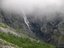 Het landschap Trollstigen van Noorwegen Stock Foto's