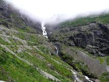 Het landschap Trollstigen van Noorwegen Royalty-vrije Stock Afbeeldingen