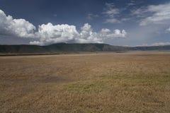 Het landschap van Afrika stock foto