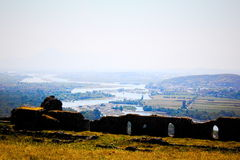 Het landschap van Albanië Stock Afbeeldingen