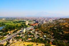 Het landschap van Albanië Royalty-vrije Stock Afbeelding