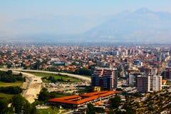 Het landschap van Albanië Stock Foto