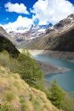 Het landschap van alpen Royalty-vrije Stock Foto