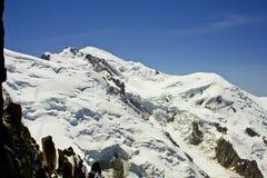 Het landschap van alpen. stock foto's