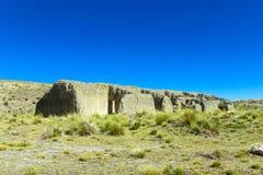 Het landschap van Altiplano Stock Foto