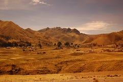 Het landschap van Altiplano. Peru. Royalty-vrije Stock Afbeelding