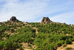 Het landschap van Anatolië, Turkije royalty-vrije stock foto