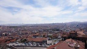 Het Landschap van Ankara Stock Afbeeldingen
