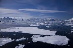 Het Landschap van Antarctica Stock Fotografie