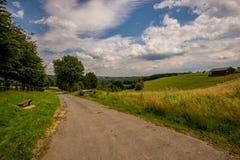 Het landschap van Ardennen Royalty-vrije Stock Afbeelding