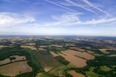 Het landschap van Ariel Royalty-vrije Stock Foto's