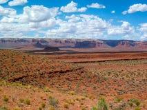 Het landschap van Arizona, U S A stock foto