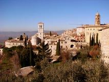Het landschap van Assisi Royalty-vrije Stock Foto's