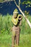 Het landschap van Bali Stock Afbeeldingen
