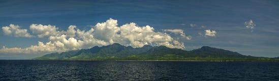 Het Landschap van Bali, Indonesië van voor de kust royalty-vrije stock afbeelding