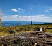 Het landschap van bergen stock fotografie