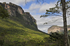 Het Landschap van bergen Stock Afbeeldingen
