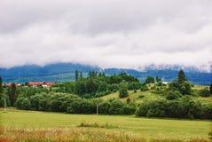 Het landschap van bergen royalty-vrije stock afbeelding