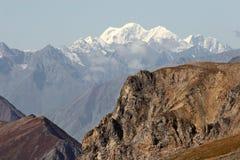 Het landschap van bergen. Stock Afbeelding