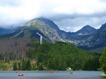 Het landschap van bergen - Slowakije Stock Afbeelding