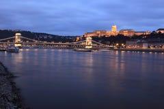 Het landschap van Boedapest Stock Afbeelding