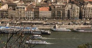Het landschap van Boedapest Stock Fotografie