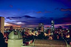 Het landschap van Bogota Stock Foto's