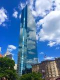 Het landschap van Boston, John Hancock Tower Stock Afbeeldingen