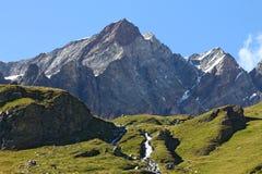 Het landschap van Breuilcervinia Stock Fotografie