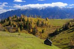 Het landschap van Bucegibergen stock afbeeldingen
