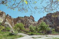 Het landschap van Cappadocia royalty-vrije stock afbeeldingen